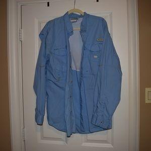 Columbia Long Sleeve Fishing Shirt
